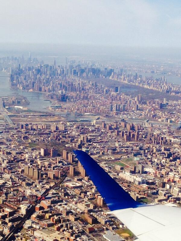 Got lucky with a good window seat and view of #NYC last time I traveled! http://t.co/QRxuRN0UtD