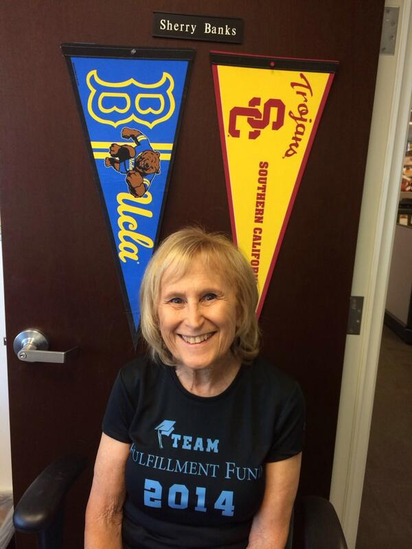 Representing my alma maters as we encourage youth to #ReachHigher! @FulfillmentFund in  full support! #collegeaccess http://t.co/1dWPgWHzzO
