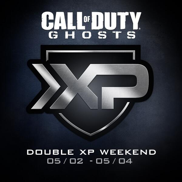 Double XP is now live across platforms in #CODGhosts http://t.co/52fe4HVJbi