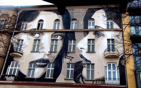 Artist #Rone masterful #StreetArt wall in Berlin, Germany http://t.co/L0SyxXVz3Q v @GoogleStreetArt @fredykoglin @torque10 @keithalink