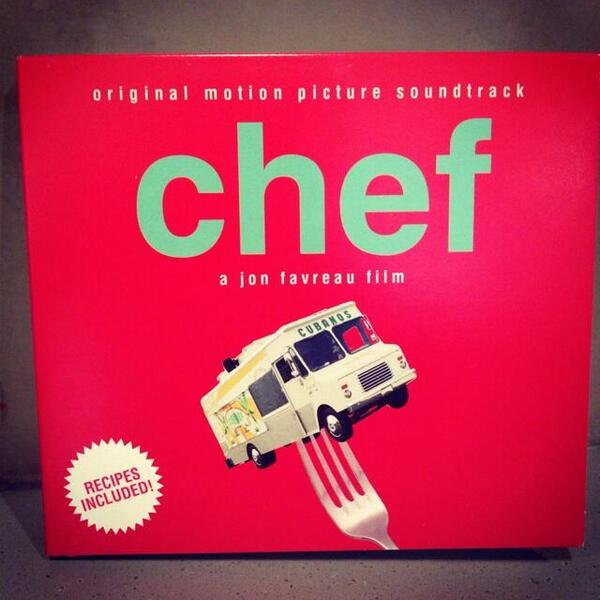 We're giving away the #ChefMovie soundtrack to a few lucky fans. RETWEET for a chance to win! http://t.co/EsQLSh8oQ9