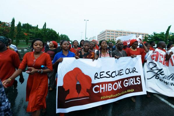 #BringBackOurGirls: Nigerians Demand Release of 200 Abducted Girls http://t.co/Q5DGfveLCn http://t.co/1lqzncX7dW