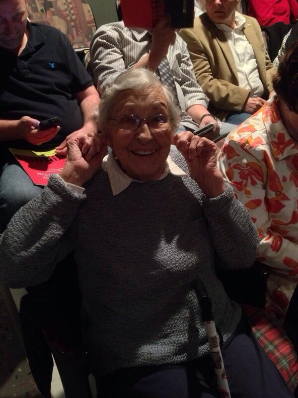 Grandma of Graduate chillin'. #csweor http://t.co/3ba4FQjSNP