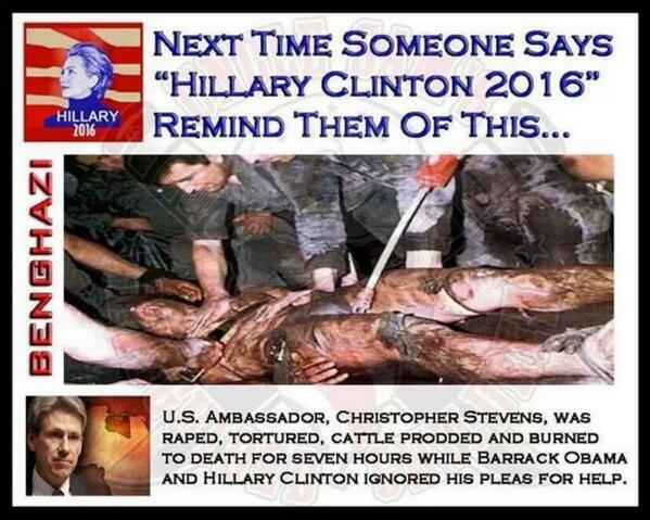 "ALL U GUTLESS DEMOCRAT TRAITORS TO ""OUR AMERICAN SERVICEMEN"" Take a look why Benghazi matters to Conservatives? http://t.co/xp54W0NeyO"