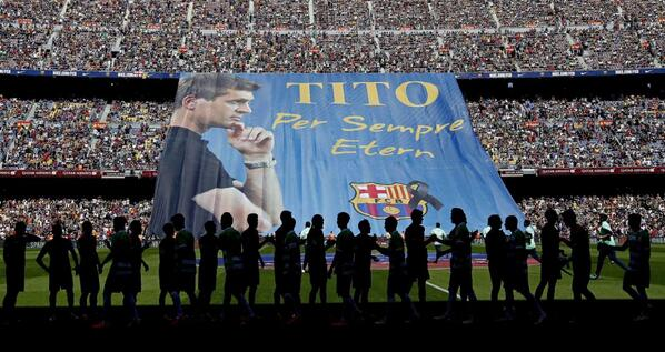 Xavi, Iniesta & Fabregas give personal messages to Tito Vilano in wonderful Barcelona tribute video