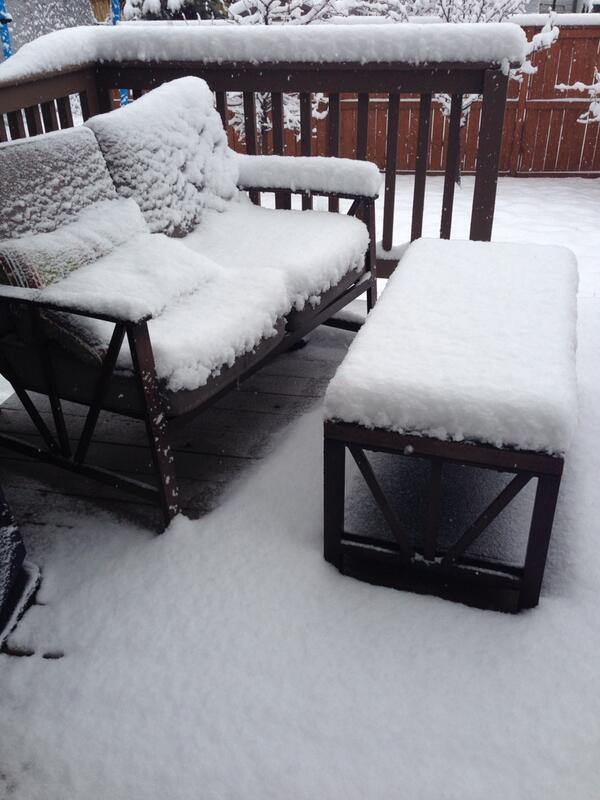 This my friends, is #Calgary in May! All you can do is #laugh #snow #yyc 😂 http://t.co/aBQbDRml99
