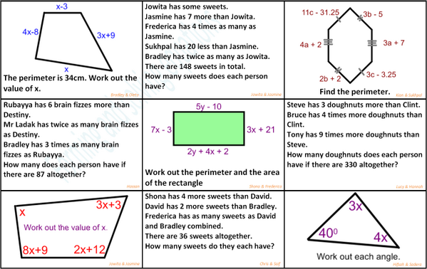 Mo Ladak On Twitter Forming And Solving Equations Revisionmat
