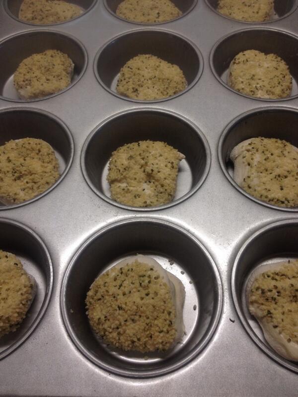 Fresh hemp buns going in the oven! @YYCBurgerWeek http://t.co/F1MoRXUugo