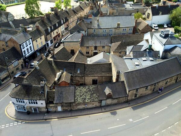 Stamford from the top of All Saints' church tower https://t.co/tSY5DMbe3b http://t.co/B0aWq9shlS