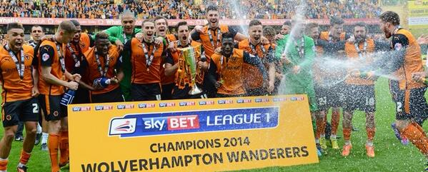 What a day at @OfficialWolves. Record breakers! http://t.co/FvXN7BNzh8