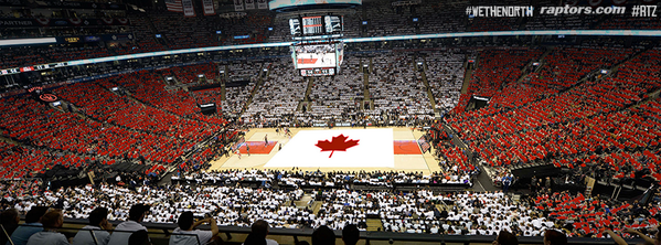 The #NorthernUprising continues for Game 7. What fans can expect to see in arena on Sunday. #WeTheNorth #RTZ http://t.co/TGoCeXwlVH