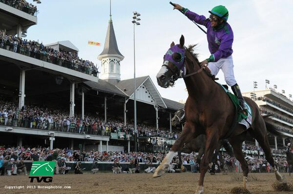 We expect this to be everyone's desktop background in work by Monday, thank you. #KyDerby http://t.co/B9UZmcFtn3