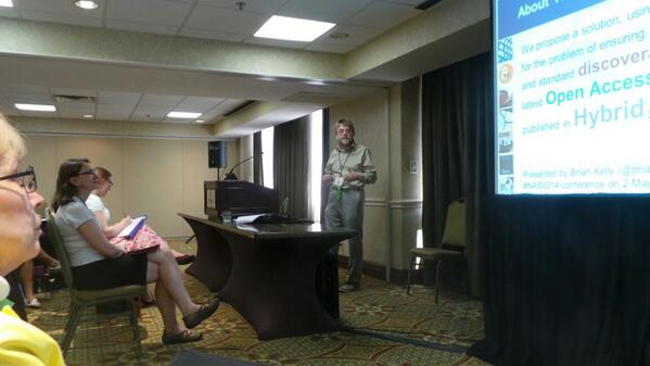 The talk I gave at #nasig14 yesterday. http://t.co/FwFabI9UVB