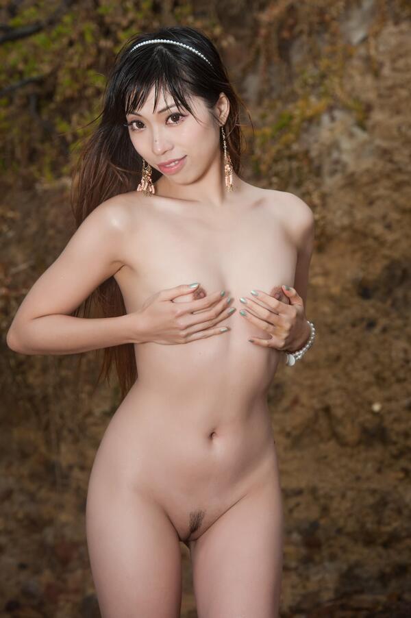 Asian australian nude model
