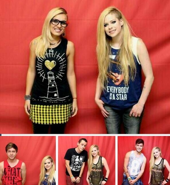 David hammond on twitter people in brazil who bought meet and david hammond on twitter people in brazil who bought meet and greet tickets for avril lavigne costing 800 were not allowed to touch her m4hsunfo