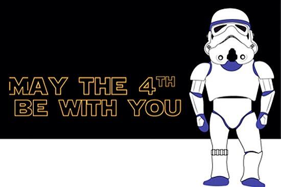 "Happy international Star Wars day! ""May the 4th be with you"" http://t.co/ttOxmB8hbX"