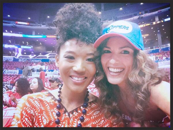 #Game7 #LACvsGSW and the Stellar @Judith_Hill is singing our Nat'l Anthem!!! @La_Courtside @LAClipperNatio1 http://t.co/gBC7VcyEOS