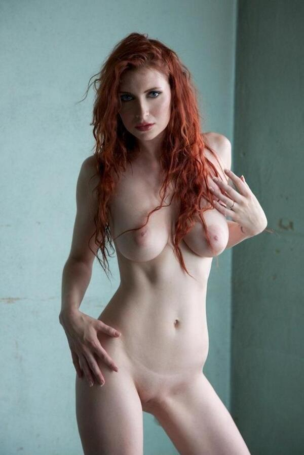 Sexy cute naked red haired girls — 3