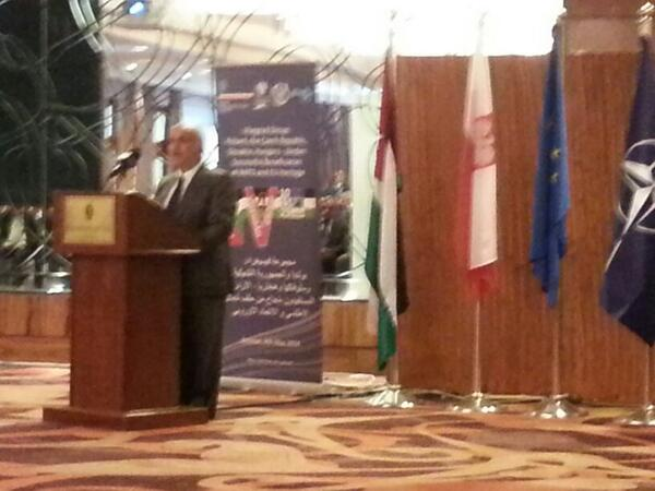 Happening now: HRH speaking at conference on Visegrad region organised by Polish Embassy http://t.co/f02xwj90Mt