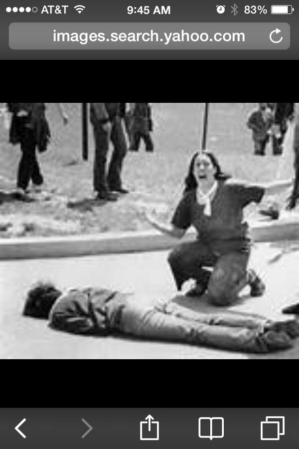 """@newsds1: On this date in 1970 the Kent State killings happened. http://t.co/Tla5j1vfEO"""