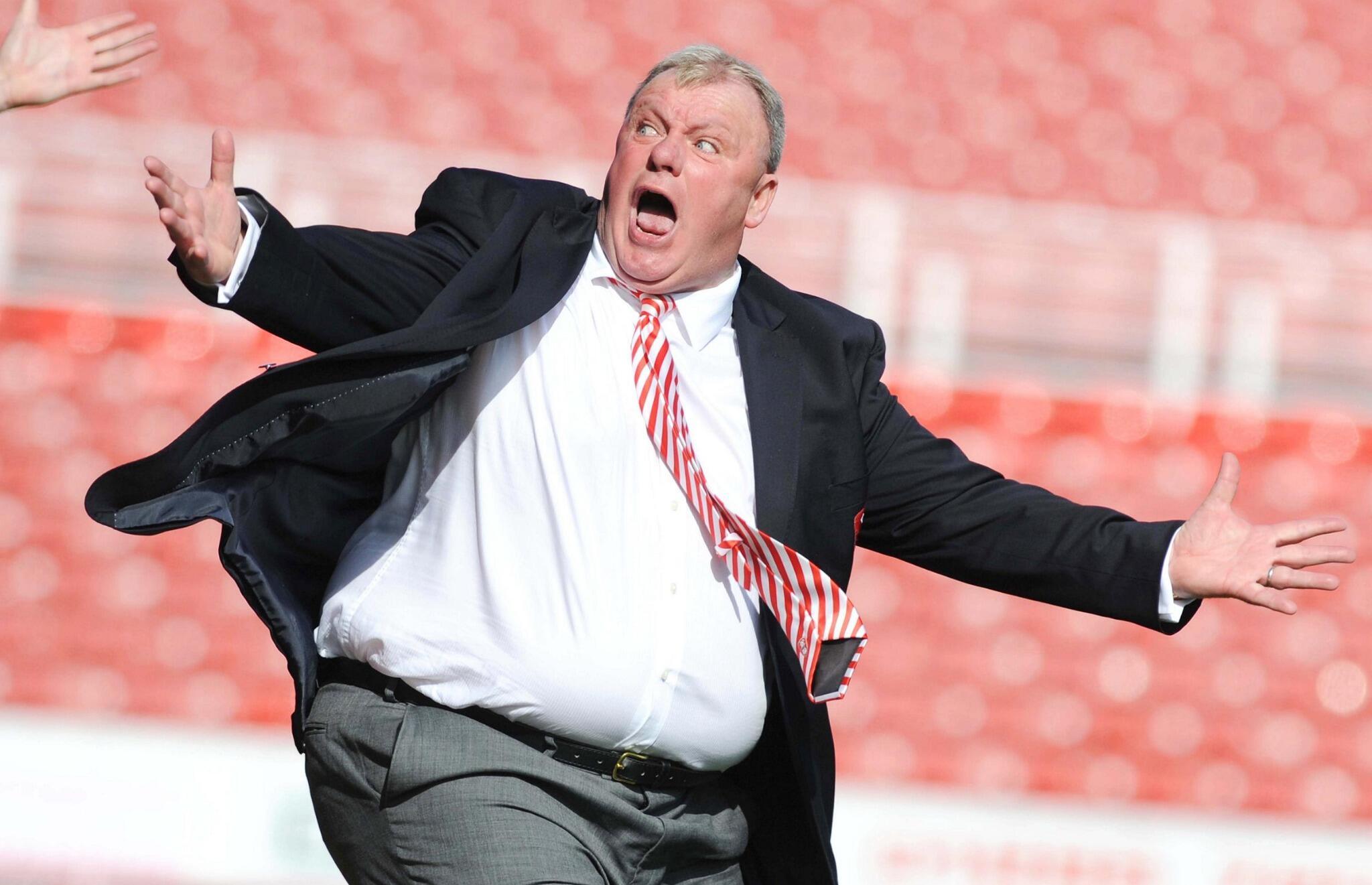 Image result for steve evans fat