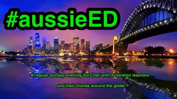 Possible australian #edchat each Sunday night. Follow #aussieED @madgiemg @TeachMissSutton @mythsysizer @EduTweetOz http://t.co/CeMW20JjvZ