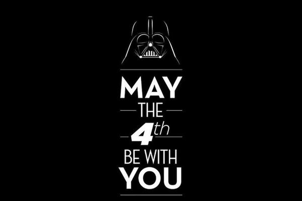#MayThe4thBeWithYou #StarWarsDay http://t.co/L5IKuQ06Sa
