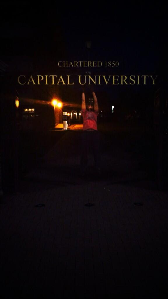 jumpin' out of the gate #capfam #capgrad #alumni http://t.co/MjEHUy8ZFu