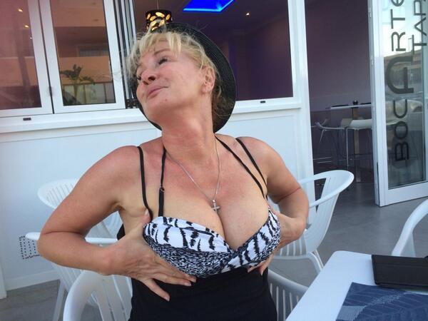 Carey fisher gold bikini