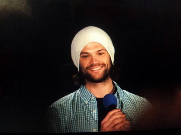 Jared at the J2 gold panel #DCCon http://t.co/w9YBmI70i0