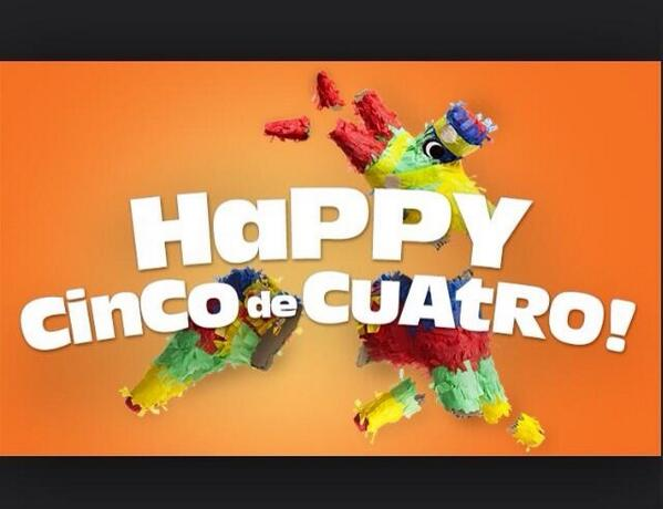 ¡Feliz Cinco de Cuatro! #CincoDeCuatro #ArrestedDevelopment http://t.co/rWxzZL8TUb