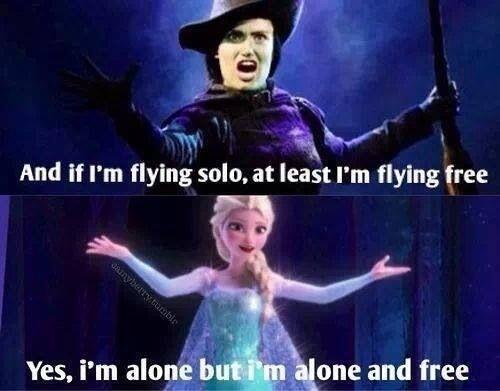 #Wicked #Frozen