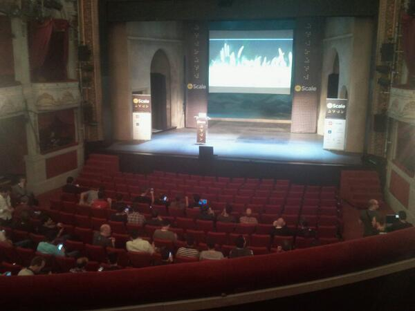 Now attending @dotScale conference. Let's scale ! #dotscale http://t.co/4uClStxW10