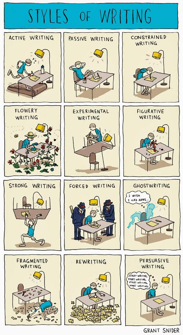 What's your #writing style? ;) http://t.co/dZ84n3QUVG