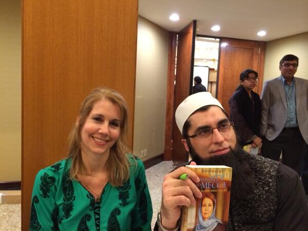 With Junaid Jamshed in St Louis after SoundVision event http://t.co/EIjz67gcSL