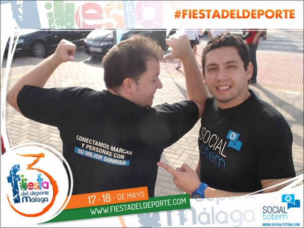 Ven y disfruta de la 3ª @fiesta_deporte #Málaga, ¡estamos todos! >>  http://t.co/tZa5eTU7Ml #fiestadeldeporte http://t.co/IJbhFdIk73