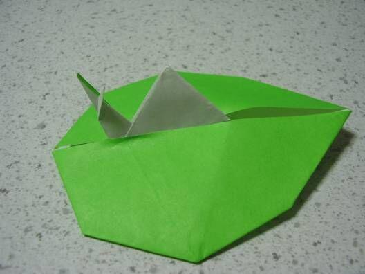 折り紙100種類プロジェクト ... : カエル 折り紙 難しい : すべての折り紙