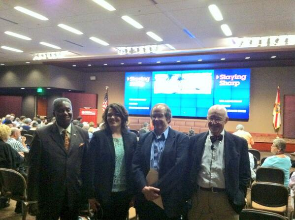 Today's panelist & moderator: Patrick A. Griffith, Katherin Snyder, Tom Flanigan & Kenneth M. Heilman http://t.co/qGjTRH8uts