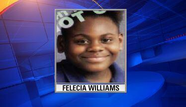 MT @MyFoxTampaBay: Missing Child Alert: Felecia Williams, 4 ft 5 in, weighs abt 100 pounds. Last seen in Temple Terr http://t.co/9DiWaC5igC