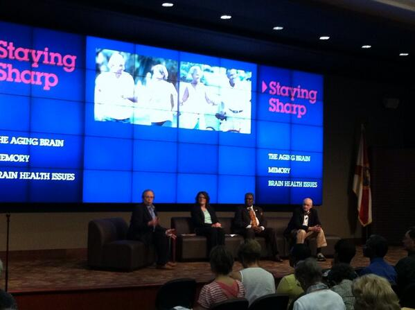Our panel discussion has begun here in Tallahassee with a discuss of normal brain function and anatomy. http://t.co/ENdr1F535O