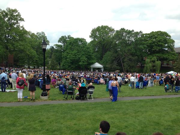 Time for graduation! #etown2014 http://t.co/tK7h5SHWGm