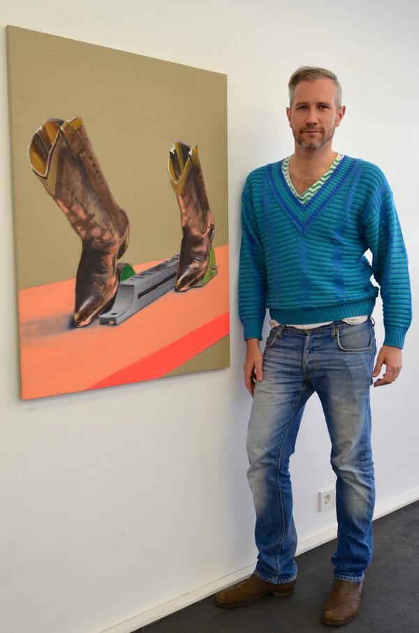 Künstler Stuttgart robin mühlebach on waschlappen künstler holger kurt