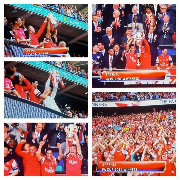 Arsenal beat Hull City 3-2 to win FA Cup, barren run of 8 years without silverware ends 1