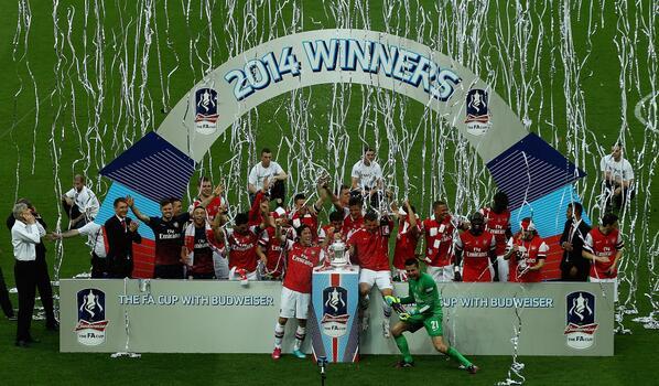 2014 FA Cup champions