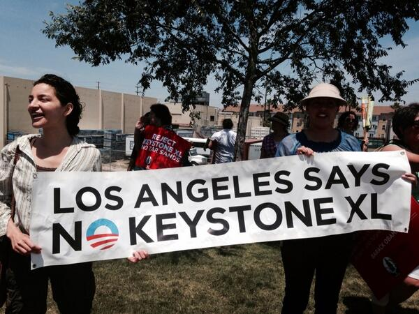 #LosAngeles Says No #KeystoneXL #NoKXL #joinhands http://t.co/NKoSgYr2nN