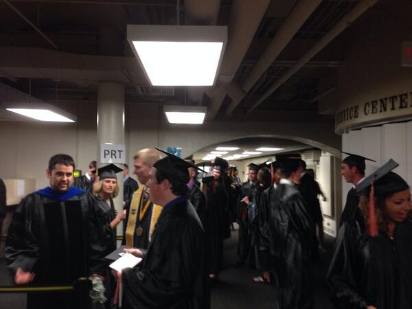 History in the making #SNRgrad514 http://t.co/R4XsRKYbyi