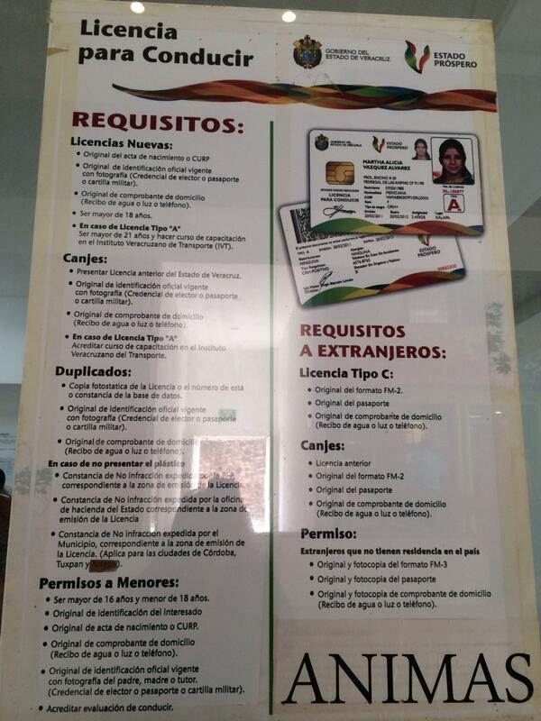 Vialidad Xalapa A Twitter Requisitos Para Tramitar