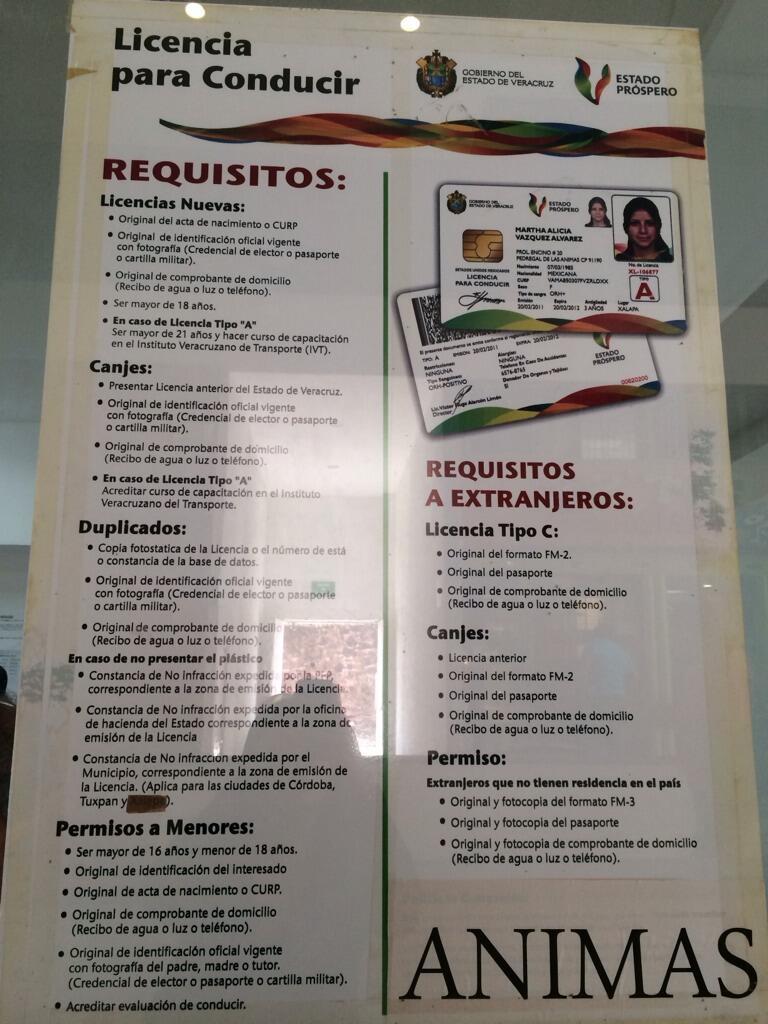 Vialidad Xalapa On Twitter Requisitos Para Tramitar
