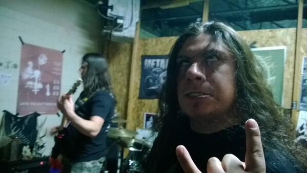 Metal, weed, and gore. Angelic Desolation jam night. #AngelicDesolation #DenverDeathMetal #SmokeWeedpic.twitter.com/G1E216jmG0