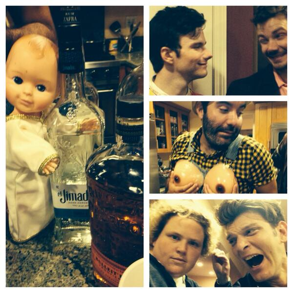 Happy birthday @chriscolfer and yup this all happened http://t.co/Ruj6D8h9VD